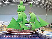 アルコ清州の帆船